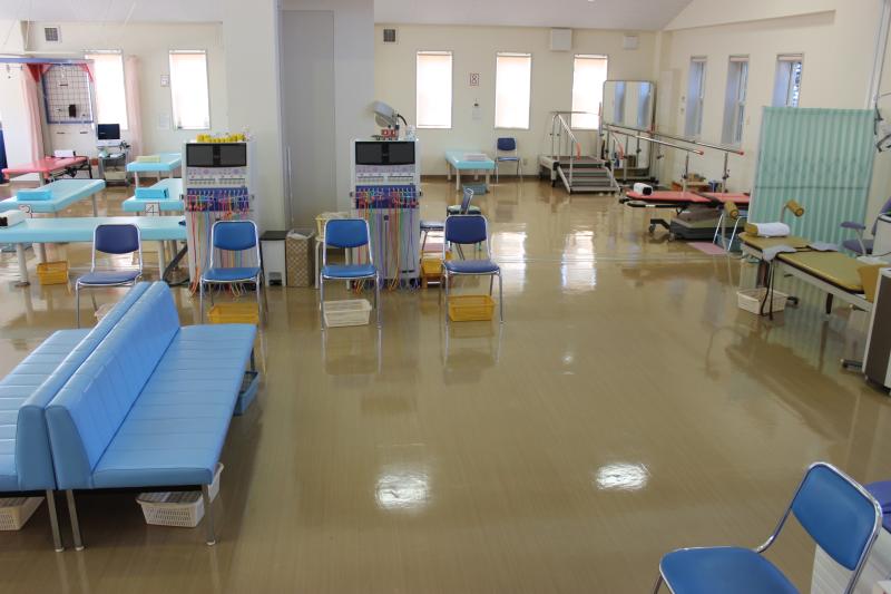 いまむら整形外科のリハビリ室3